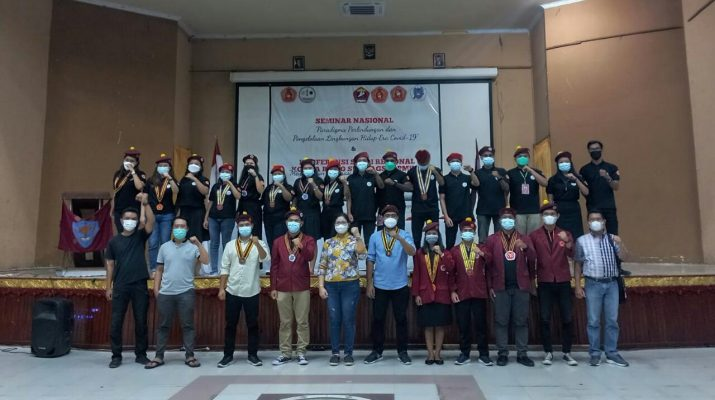Perhimpunan Mahasiswa Katolik Republik Indonesia (PMKRI) Cabang Jambi, melaksanakan konferensi studi regional Se-Sumbagsel pada tanggal 14 sampai dengan 17 september 2021.