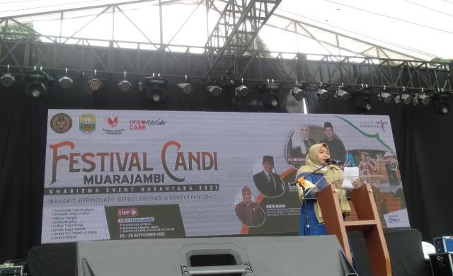 Objek wisata di Bumi Sailun Salimbai, kembali menjadi sorotan nasional. Festival Candi Muaro Jambi ke-16, masuk dalam Kharisma Event Nasional Kementerian Pariwisata dan Ekonomi Kreatif, resmi ditutup.