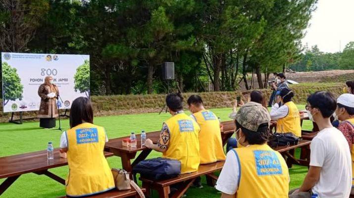 Bupati Muaro Jambi, Hj Masnah Busro siap beri support untuk Citra Raya City dalam kegiatan tanam 800 pohon, maupun di kegiatan lainnya, yang dapat membawa nama baik Muaro Jambi.