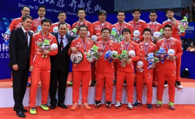 Sepanjang sejarah kompetisi Thomas Cup, Indonesia menjadi yang paling banyak meraih juara di bandingkan Negara lain di dunia. Bahkan, China menjadi yang kedua di bawah Indonesia.