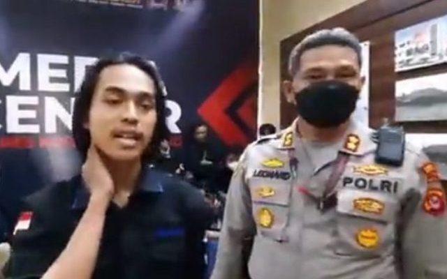 Kapolresta Tangerang, Kombes Wahyu Sri Bintoro memastikan, kondisi Faris alias MFA (21) mahasiswa, yang kena smackdown oknum polisi berpangkat Bigradir NP, dalam kondisi baik.